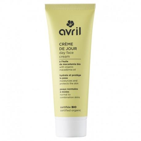 Avril Crème De Jour Peaux Normales Et Mixtes Bio 50ml
