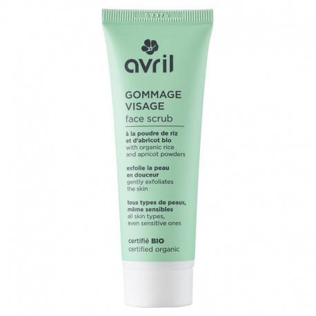 Avril Gommage Visage Bio 50ml