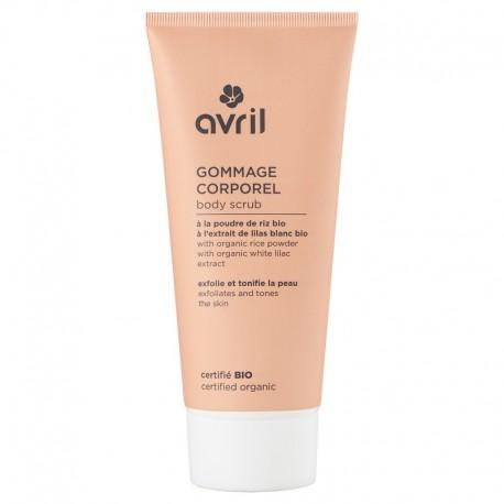 Avril Beauté Gommage Corporel Certifié Bio 200ml