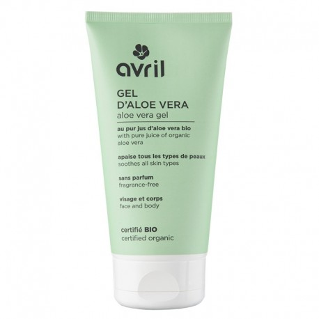 Avril Beauté Gel d'Aloe Vera Certifié Bio 150 ml