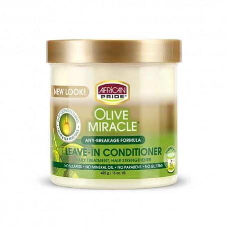 African Pride Olive Miracle - Crème Sans Rinçage à l'Huile d'Olive