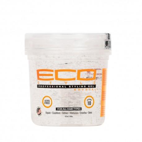 Eco Styler krystal gel coiffant effet mouillé 473 ml