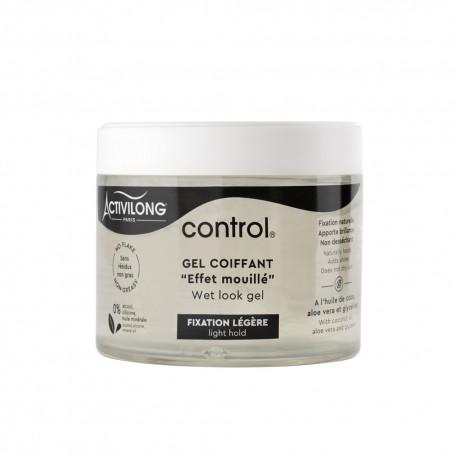 Activilong Control Gel Coiffant Fixation Légère Effet Mouillé 300 ml