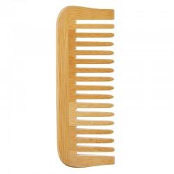 Avril Peigne À Dents Larges En Bambou