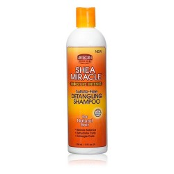 African Pride Shea Miracle - Shampoing Démêlant 355 ml