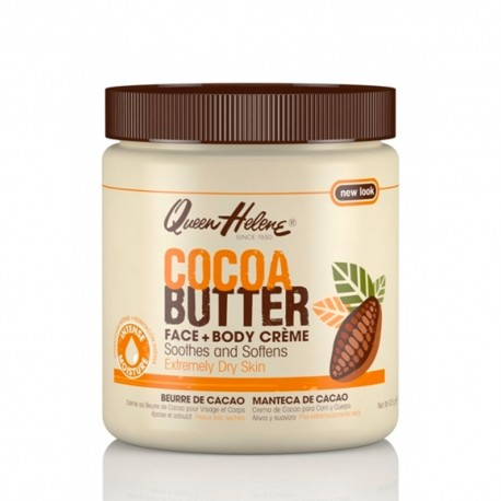 Queen Helene crème visage et corps au beurre de cacao 425 g