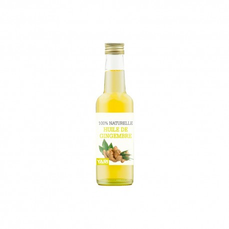 Yari huile de gingembre 100% naturelle 250 ml