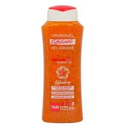 Yari gel douche exfoliant à l'huile de carotte 500 ml