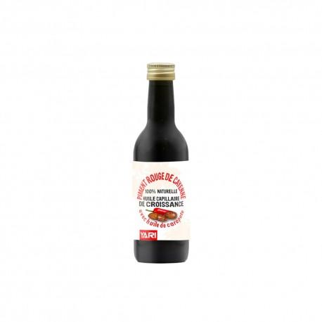 Yari huile de piment rouge 100% naturelle 250 ml