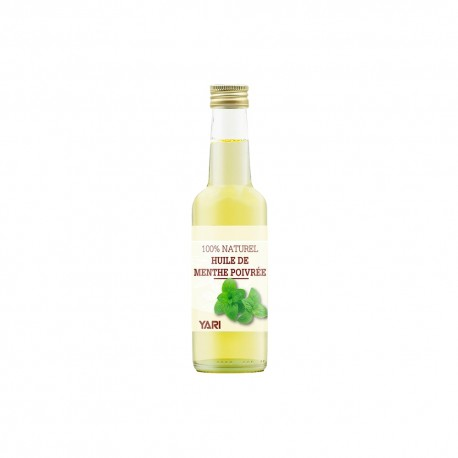 Yari huile de menthe poivrée 100% naturelle 250 ml