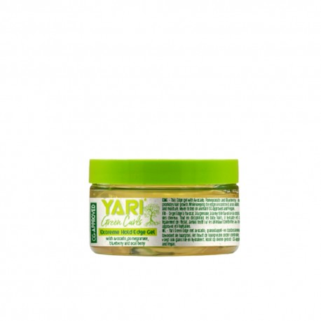 Yari green curls cire coiffante bordures 125 ml