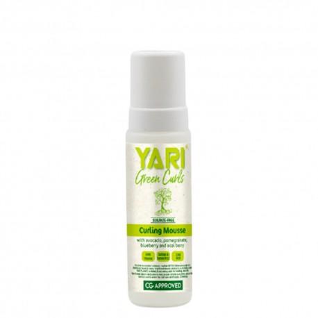 Yari green curls mousse coiffante définition boucles 220 ml