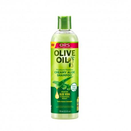 ORS olive oil creamy aloe shampoo - shampoing aloe vera 370 ml