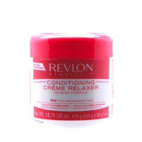 Revlon Realistic creme relaxer - crème défrisante douce 425 g