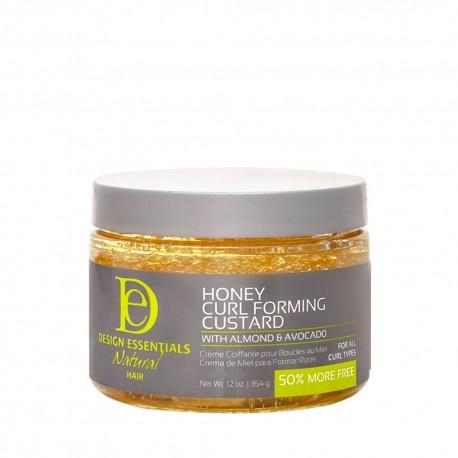 Design Essentials almond & avocado honey curl forming custard gel coiffant 354 g