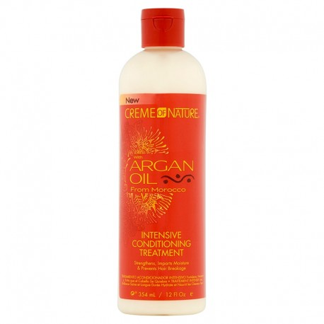 Creme of Nature Argan Oil Intense Conditioning Treatment - Après-Shampoing à l'huile d'argan