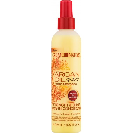 CREME OF NATURE - Argan Oil from Morocco - Strength & Shine Leave-in Conditioner