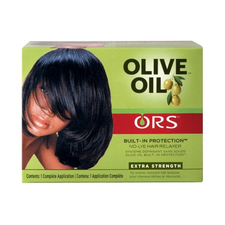 ORS olive oil built-in protection - défrisant sans soude extra fort 1 application