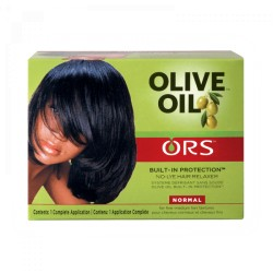 ORS Olive Oil Built-In Protection - Kit Défrisant Sans Soude Normal