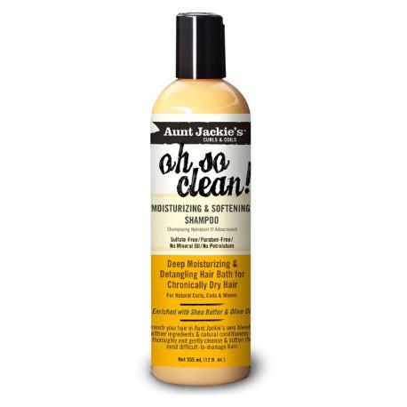 Aunt Jackie's Oh So Clean - Shampoing Hydratant Et Adoucissant 335 ml