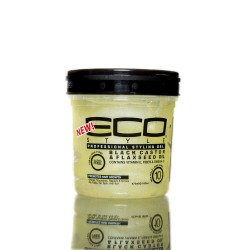 Eco Styler Black Castor & Flaxseed Oil - Gel Coiffant