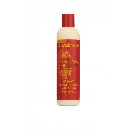Creme of Nature Argan Oil Creamy Oil Moisturizing Hair Lotion - Lotion Hydratante huile d'argan