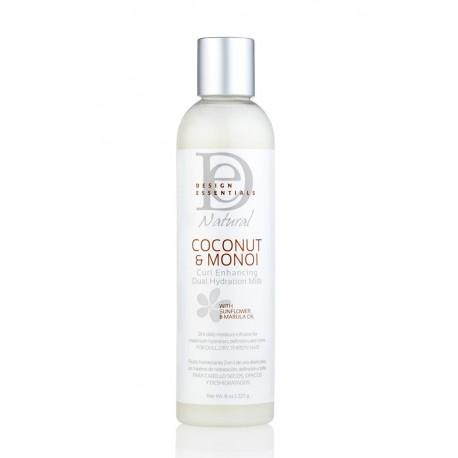 Design Essentials Coconut & Monoi Curl Enhancing Dual Hydration Milk