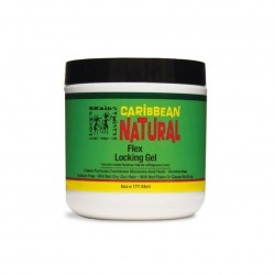 Caribbean Natural Flex Locking Gel