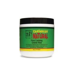 Caribbean Natural Firm Locking Crème Wax - Cire Forte Dreadlocks