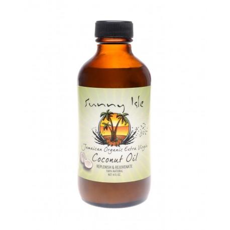 Sunny Isle Jamaïcan Organic Extra Virgin Coconut Oil - Huile de Coco Extra Vierge