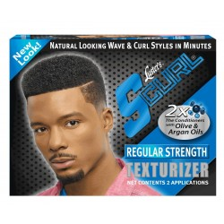 Luster's Scurl Regular Strength Texturizer - Kit Défrisant Cheveux Normaux