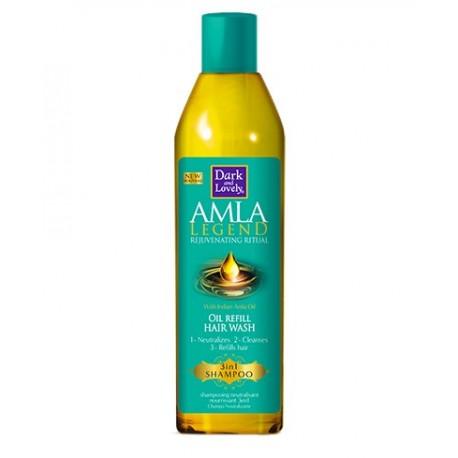 Dark and Lovely Amla Legend Shampoing Neutralisant Nourrissant 3 en 1