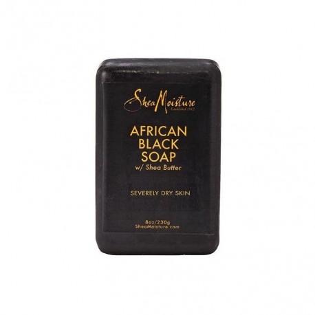 Shea Moisture African Black Soap - Savon Noir Africain