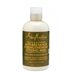 Shea Moisture Yucca & Plantain Anti Breakage Strengthening Styling Milk