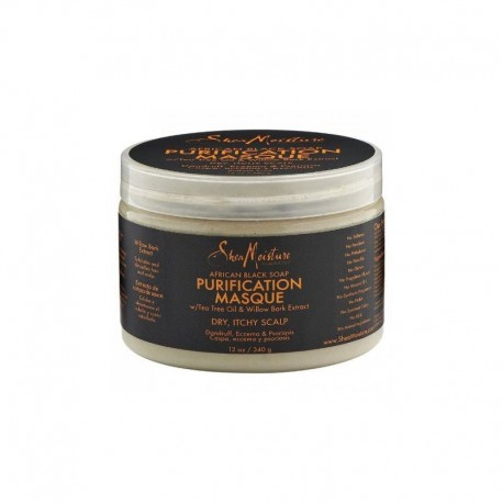 Shea Moisture African Black Soap Purification Masque - Masque purifiant