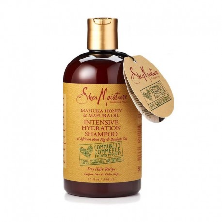 Shea Moisture Manuka Honey & Mafura Oil - Shampoing Hydratation Intense