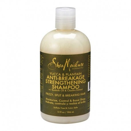 Shea Moisture Yucca & Plantain Anti Breakage Strengthening Shampoo - Shampoing anti-casse
