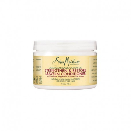 Shea Moisture Jamaican Black Castor Oil Strengthen & Restore Leave-In Conditioner - Après-Shampoing