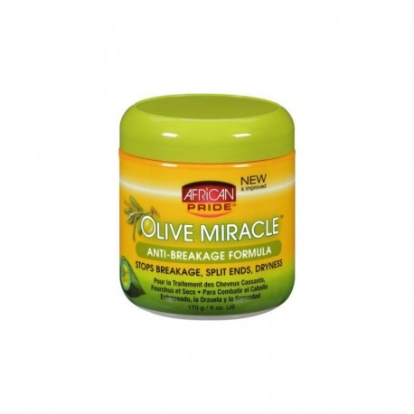 African Pride Olive Miracle Anti-breakage Formula - Crème anti-casse