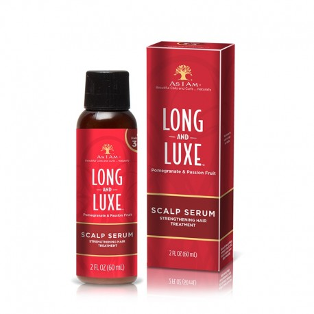 As I Am Long And Luxe Scalp Serum Strengthening Hair Treatment