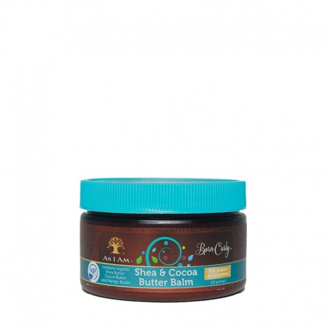 As I Am Born Curly Shea & Cocoa Butter Balm