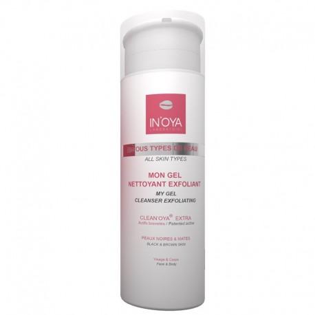 In'oya Clean'oya Mon Gel Nettoyant Exfoliant 150ml