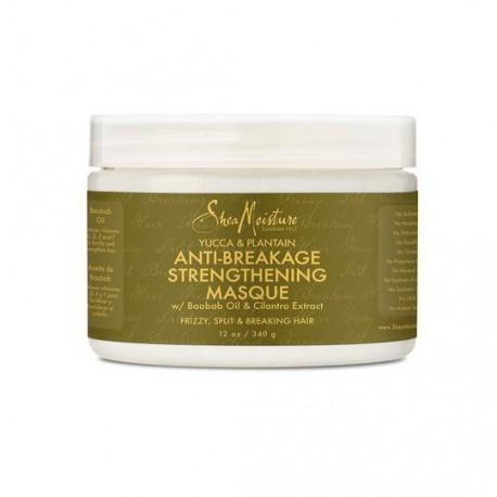 Shea Moisture Yucca & Plantain Anti Breakage Strengthening Masque - Masque anti-casse